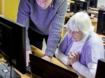 GIFTed studentų mokymai senjorams