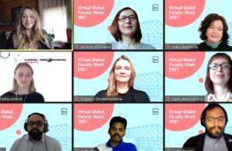 """KTU antrą kartą vyko tarptautinė dėstymo savaitė """"Virtual Global Faculty Week 2021"""""""